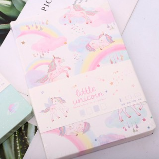 "Notebook ""Little Unicorn"" радужный"