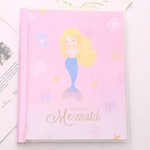 Блокнот-notebook «Mermaid» розовый