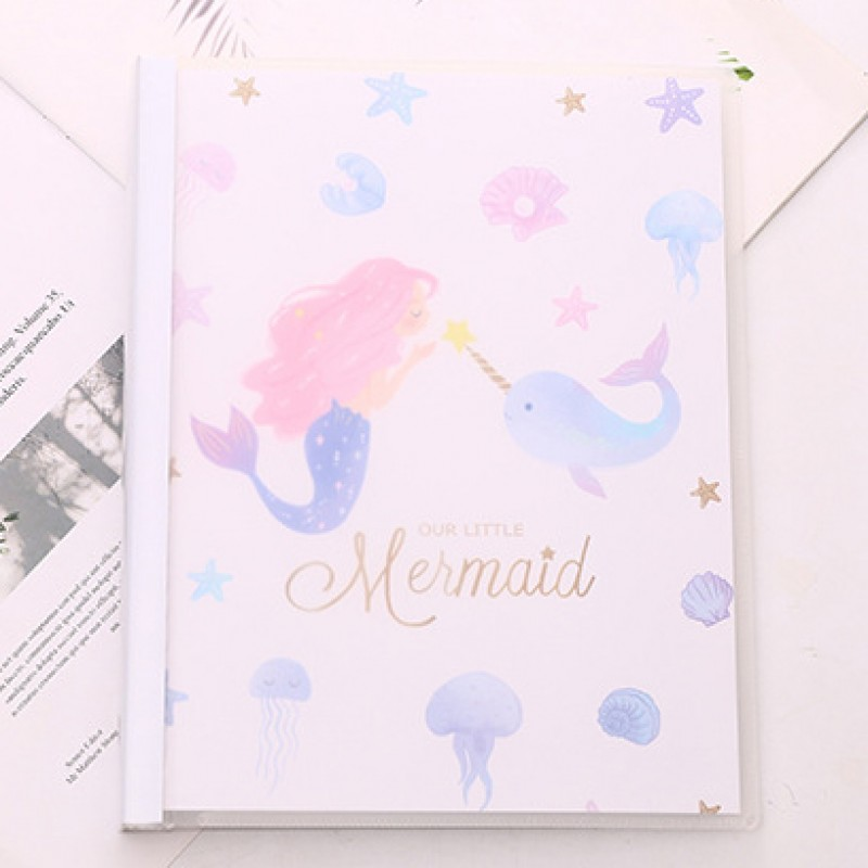 Блокнот-notebook «Mermaid» белый