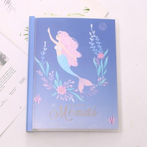 Блокнот-notebook «Mermaid» синий
